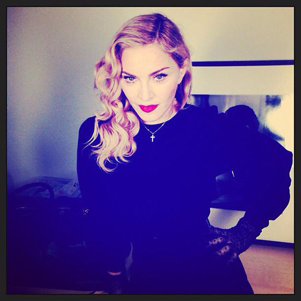 """Thank you to all off my Soldiers! #secretprojectrevolution is in Full Gear! #artforffreedom show us the way!"" -Madonna"